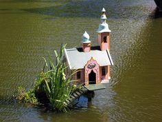 *The Green Garden Gate* - Wonderful Duck Houses