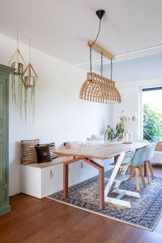 alternatief voor stuva bankje Ikea Stuva, Ikea Hacks, Dining Area, Office Desk, House Design, Interior Design, Table, Furniture, Decorating Ideas