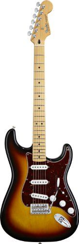 Fender Roadhouse(TM) Stratocaster® Electric Guitar, Brown Sunburst, Maple Fretboard