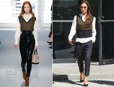 Victoria Beckham In Louis Vuitton – Out In New York City