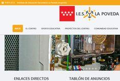 En ideaWeb llevamos a cabo la creación de página web para Instituto de Educación Secundaria de la Comunidad de Madrid. En esta ocasión desarrollamos l