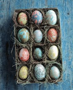 Eco Friendly Decorating Easter Eggs With Natural Colors