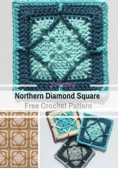 Spectacular Crochet Square For Gender Neutral Baby Blankets