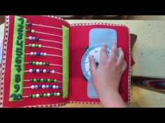 Quiet Book for Adele - YouTube