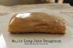 Made It. Ate It. Loved It.: Maple Long John Doughnuts