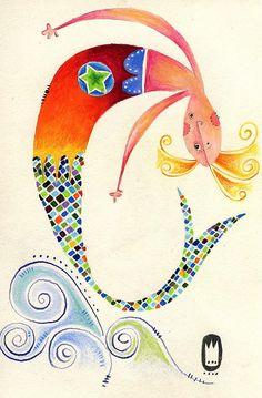 mermaid by groovy.2k, via Flickr