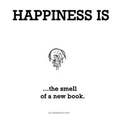 Happiness is... #smell #books #booksniffer