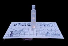 Five Luminous Towers, A Book To Be Read In The Dark - a pop up book.  $2000.