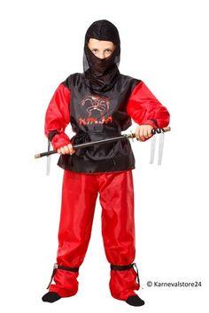 Blauw Ninja kostuum voor kinderen #ninja #ninjapak #ninjakostuum