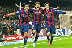 Suárez, Neymar and Messi are arguably Europe's most formidable strike force