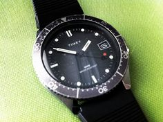 Timex Vintage Diver by brandoncripps, via Flickr