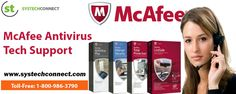 McAfee is launched with a security suite meant to extend protection to all types of computers. To resolve McAfee Tech Support Phone Number related problems, dial the McAfee tech support number 1-800-986-3790. Also, visit www.systechconnect.com for details.