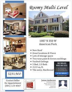 real estate just sold flyer templates.html