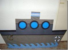 disfraz de barco goma eva - Buscar con Google