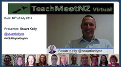 TeachMeetNZ presents Stuart Kelly Video Link, Reflection, Presentation, Presents, Education, Learning, Gifts, Studying, Teaching