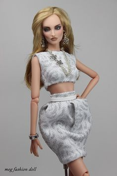 New outfit for Kingdom Doll / Deva Doll '' SILVER '' | Flickr - Photo Sharing!