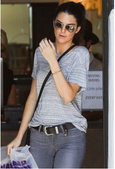 8f1c6e32fc05 B-Low the Belt Frank Belt in Black∕Silver as seen on Kendall Jenner