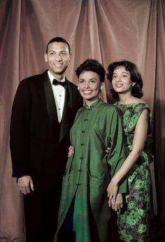 Lena Horne and her children