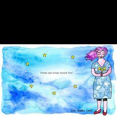 There are stars inside you! Goddess Leonie Dawson