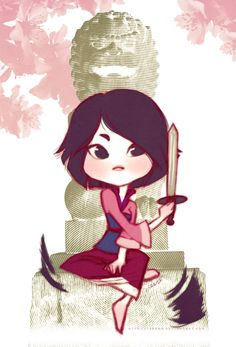 I am obsessed with Mulan Fan Art.