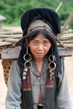 Vallée du Luang Namtha Femme Lanten