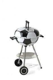 WM-Fußballgrill mit Besteck aus Edelstahl