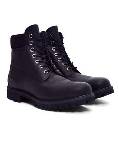 """New In   Timberland 6"""" Premium Boot in Black Smooth   Shop all men's clothing at The Idle Man"""