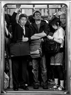 Shinjuku's rush hour (Tokyo, Japan)