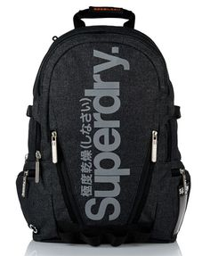 "Superdry Super Marl Tarp Backpack Use couponcode ""PINME"" for 40% off all hammocks on maderaoutdoor.com ⛰"