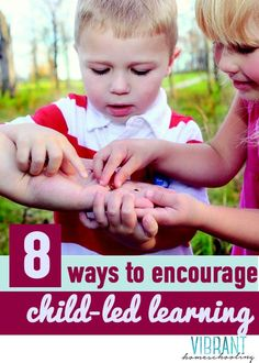 "How can child led learning happen... naturally? Check out these 8 ways to encourage child led learning (or what I like to call ""rabbit trails""). Vibrant Homeschooling"