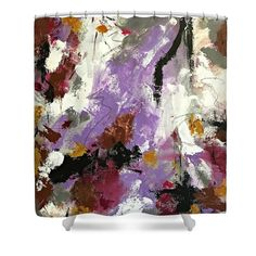 Meditation and Energy Shower Curtain by Mary Mirabal