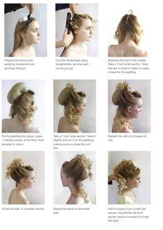 High Fashion Hair, Hair Upstyles, Dance Hairstyles, Extreme Hair, Natural Hair Styles, Long Hair Styles, Fantasy Hair, Pinterest Hair, Hair Shows