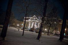 Winter at Roanoke College