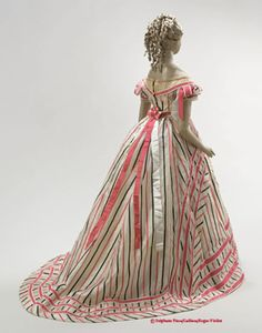 Late 1860s ball gown