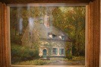 La maison dans le bois by Alfred Théodore Joseph Bastien