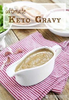 Ultimate Keto Gravy (low-carb, paleo)