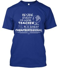Behind Every Great Teacher Is A Great Paraprofessional Magnet | Zazzle ...