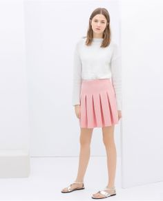 PLEATED SKIRT | $49.90 #Fashion #Trending #Womens Fashion | Visit WISHCLOUDS.COM for more...