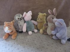 Winny The Pooh - vintage stuff animal collection in Mt_View_Online_Garage_Sale Sale in Mountian View , CA for $60.00.
