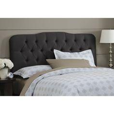 Skyline Furniture Tufted Shantung Arch Upholstered Headboard & Reviews | Wayfair