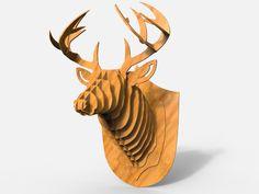 GrabCAD deer head
