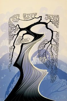 Carmel Cypress - Eyvind Earle