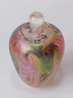 Art Glass Perfume Bottle by Richard Golding <3<3<3PRETTY<3<3<3