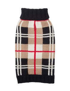 Plaid Dog Sweater