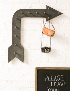 Fête Weddings | Wedding Planning VA | Lovely Links | Fairground Arrow Hanger
