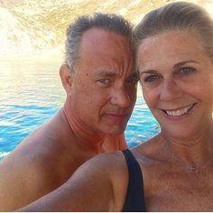 Tom Hanks and Rita Wilson  #tomhanks #like4like #follow4follow #like4follow #follow4like #cute #funny #legend #king #man #love #instagood #hollywood #actor #forrestgump #castaway #philadelphia #star #young #oscar #american #handsome #hollywoodlegend #relationshipgoals #couplegoals #married