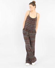 Combinaison-pantalon imprimée