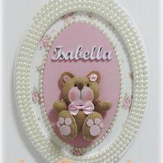 Porta de maternidade ursinha #portadematernidade #ursinhalinda #babygirl #artesanatobrasil #amooquef - ki_capricho_cuiaba