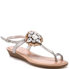 GUESS SHOES : JULENE - SILVER MULTI SUEDE