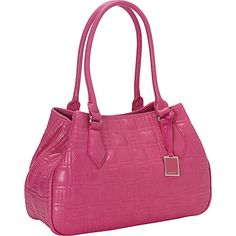 #Handbags, #ManmadeHandbags - Nine West Handbags Show Stopper Medium Satchel Fuschia - Nine West Handbags Manmade Handbags